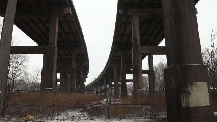 Photo of Des Plaines Bridge Structure