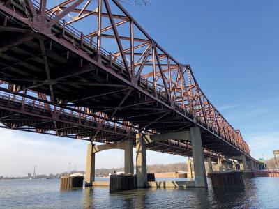 I-80 des plaines bridge