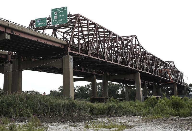 Photo of I-80 bridge in Joliet, Illinois