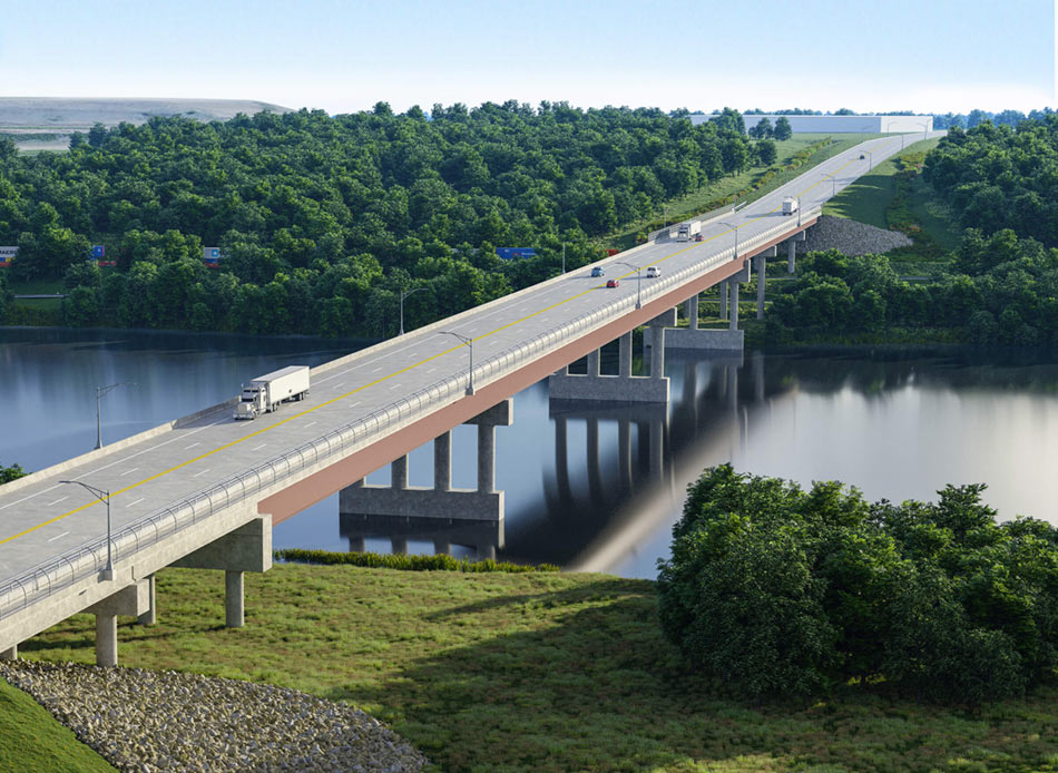 Houbolt bridge drawing